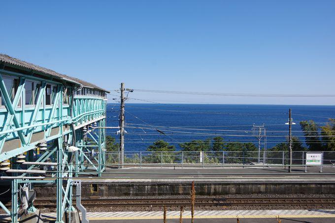 JR根府川駅よりアートな旅が始まる