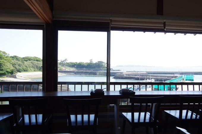 西エリアのカフェでまったり佐久島時間。
