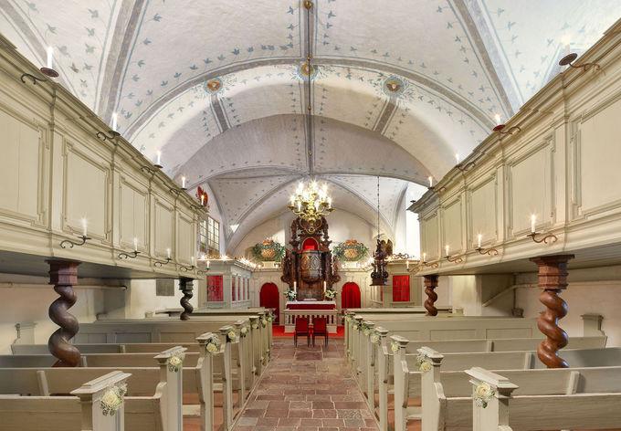 グリュックスブルグ城で結婚式も!宿泊施設も併設