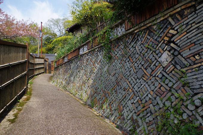 瀬戸でしか見られないレアな風景!窯垣の小径