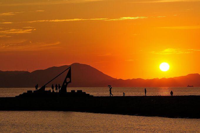 そこには「海と空と夕焼けと笑顔」があります。
