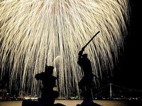 KANMON GO!!「関門海峡花火大会」ゆっくり楽しむなら巌流島で!!