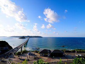 エメラルドグリーンに浮かぶ角島のおすすめ観光スポット5選