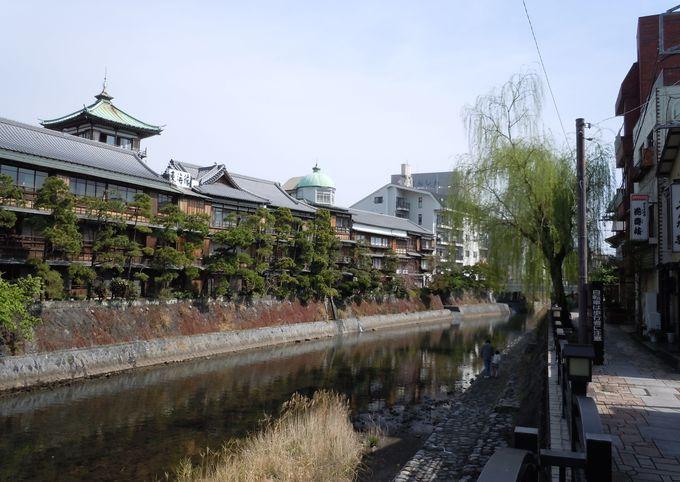 松川遊歩道を、のんびり散策