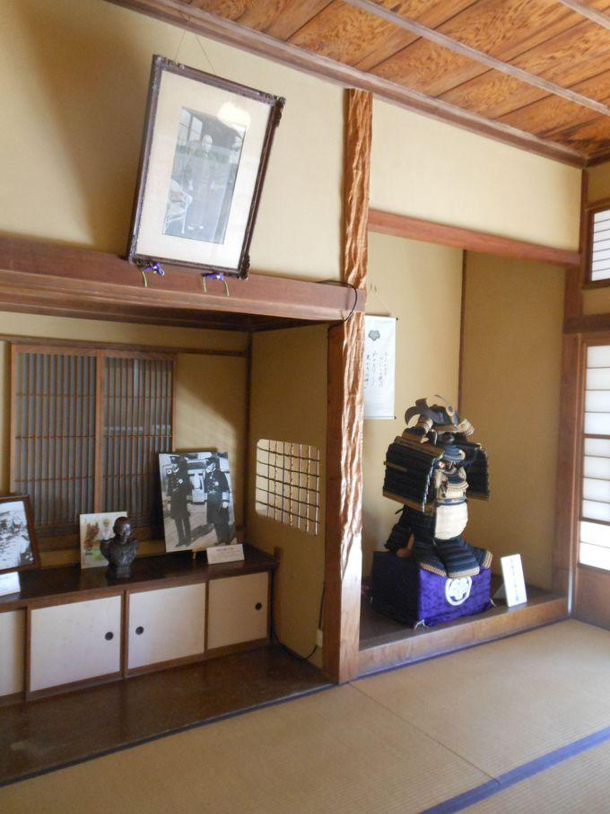 日本に現存する唯一の、東郷平八郎元帥の旧居