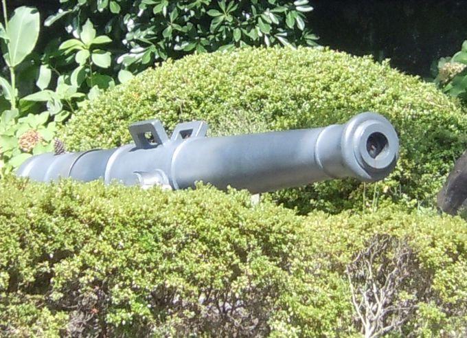 反射炉で製造された大砲