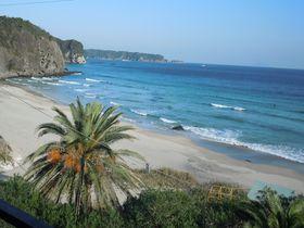 まるで沖縄!美しいビーチを見ながら過ごせる、浜辺の宿「濤亭(とうてい)」〜下田市〜