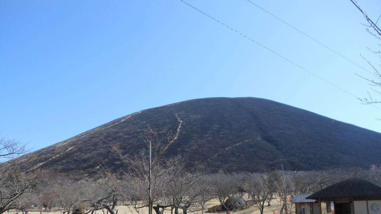 見事な大室山