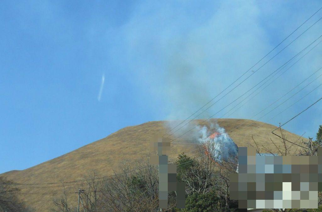 700年以上続く伝統行事!山を丸ごと焼き尽くす「大室山山焼き」〜伊東市〜