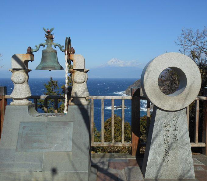 景勝地から望む富士山