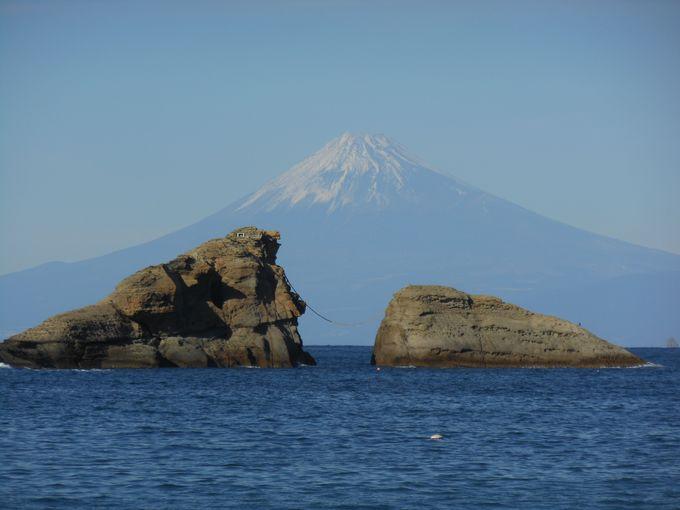 松崎町にふさわしい富士山のビュースポット