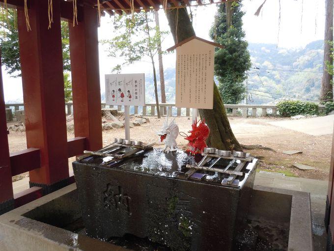 伊豆山神社のシンボル