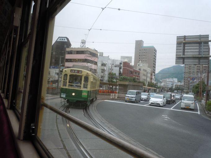 長崎市に来たら、移動はこの乗り物
