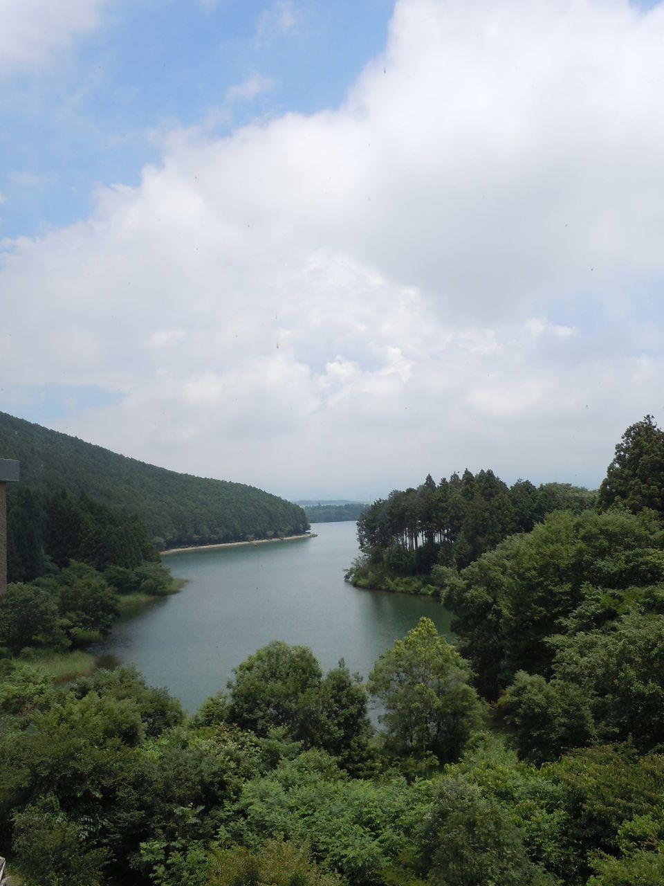 富士山のすぐ近くの湖「田貫湖」