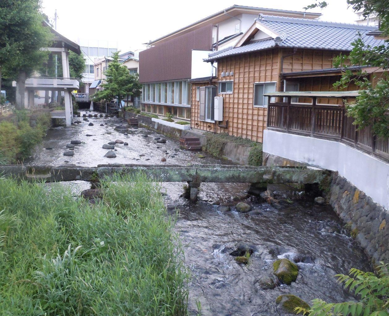 さらさらと流れる、川の流れ