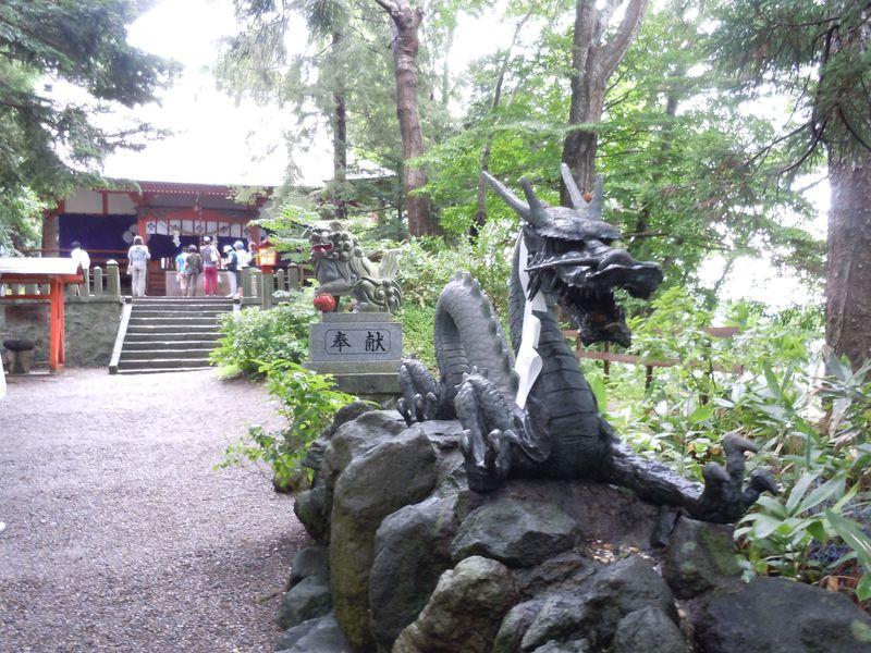 島に鎮座!野尻湖遊覧船で行く隠れたパワースポット「宇賀神社」