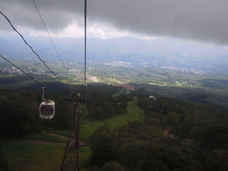 妙高高原スカイケーブルで行く日本百名山、新潟県『妙高山』