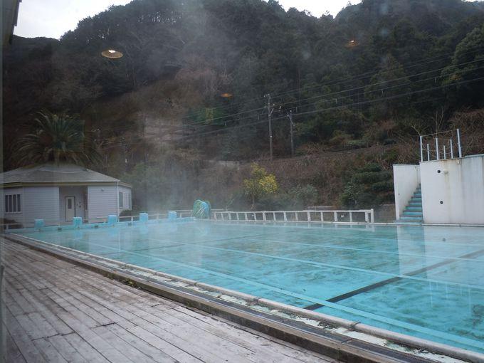 25mプール、ぜ〜んぶ温泉!!