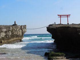 伊豆最古の神社、下田「白浜神社」で恋愛祈願+神秘の絶景!
