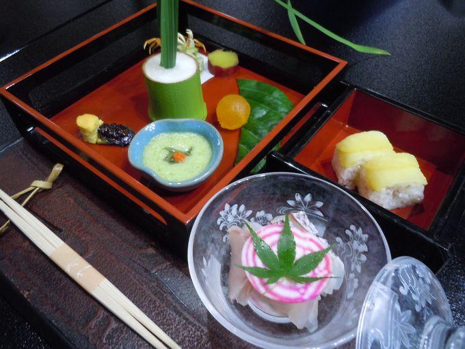 目で感じる、日本ならではの美しい料理