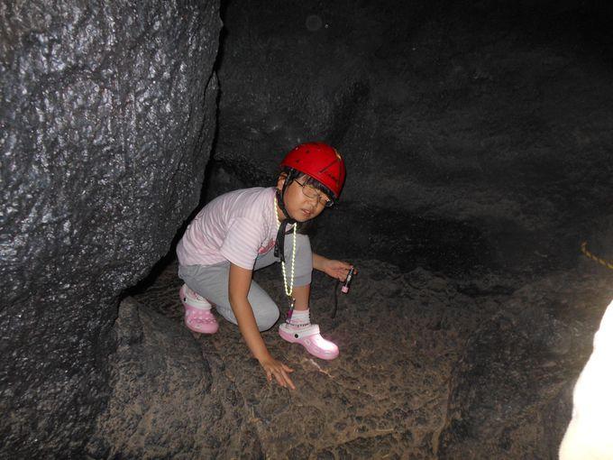 えっ!室内に居ながら洞窟探検!?