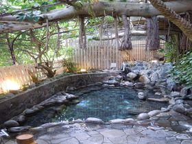 10種類の湯処に南国野天風呂!源泉湯守りの宿!伊豆・熱川「玉翠館」