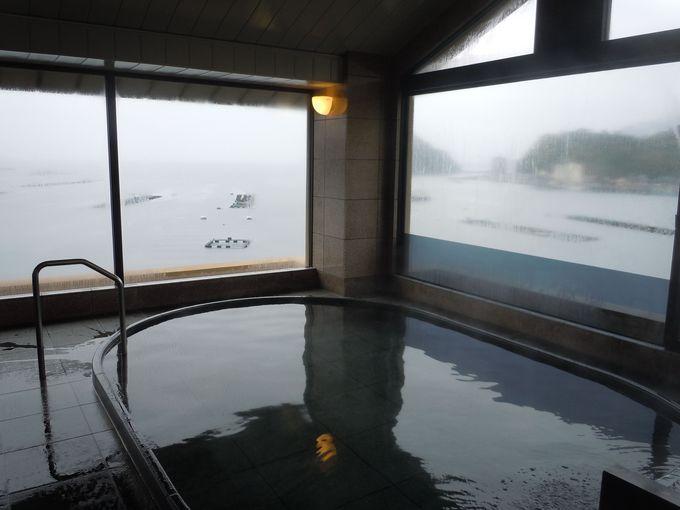 一面の海+富士山を望みながら入る格別な湯!