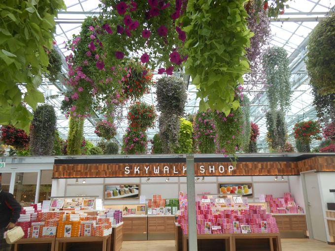 オリジナルグッズが勢揃い!ショッピングもお花も楽しめるショップ!