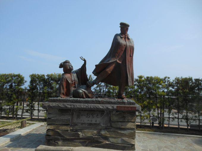 観光で立ち寄りたい熱海の十八番「貫一お宮の像」
