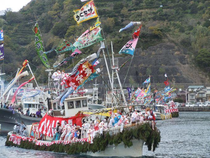駿河湾の漁民信仰を集める伝統行事!