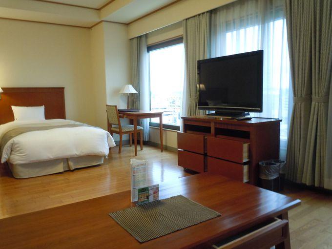 ゆとりの空間と好アクセス「パシフィックホテル沖縄」