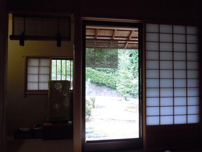 部屋数わずか4室!京風のお洒落な安らぎの和室