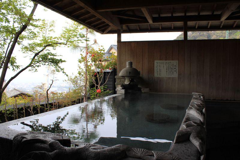 別府八湯の一つ 観海寺温泉を満喫できる!旅亭「松葉屋」