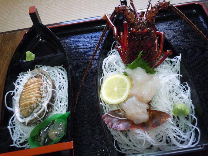 新鮮な魚介類から自家菜園の野菜まで!自然の恵みが盛り沢山