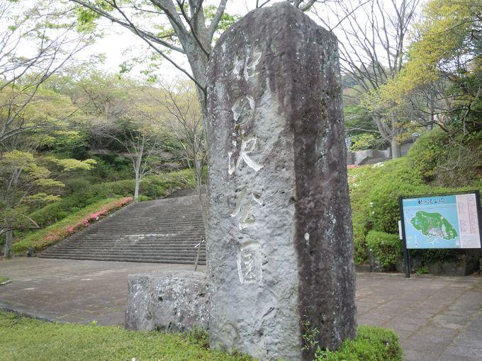 日本の都市公園100選に選ばれた「姫の沢公園」