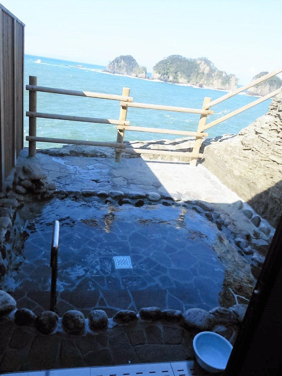 前代未聞?!国立公園内にある絶景の風呂「沢田公園露天風呂」