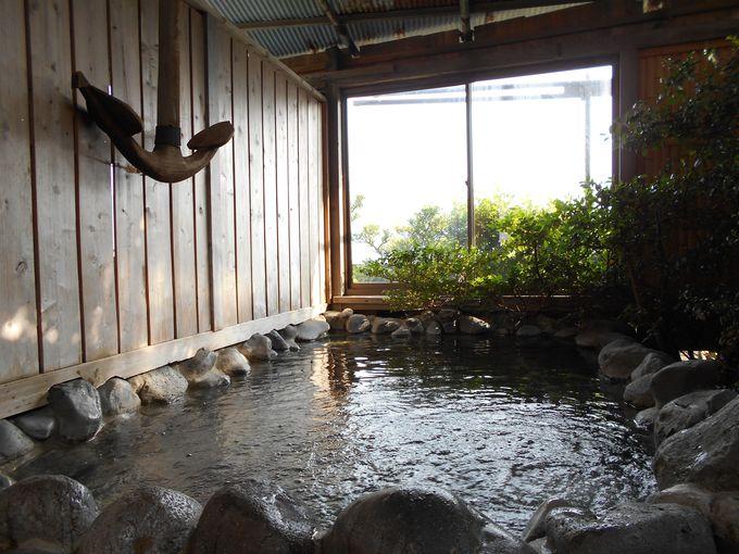 24時間いつでも入浴可能な自然温泉?!