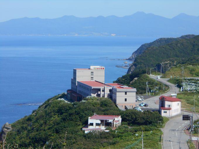 津軽半島の最果ての地にある「ホテル竜飛」