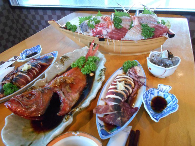 特産の金目鯛+泉質抜群の絶景風呂!東伊豆・漁師の宿「白田荘」