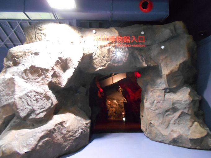 火山のパワーを感じられる貴重な博物館