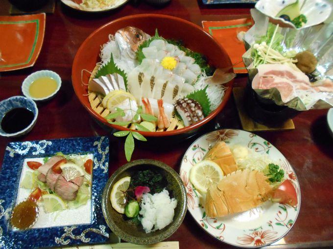 「旬産旬消」を考慮!希少価値の高い食材まで食べられる至福な夕食