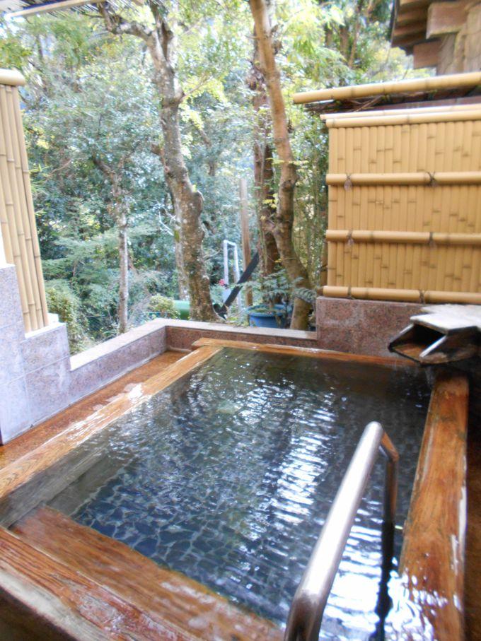 温泉も、水もイイっ!流石は、河津の名水!嬉しい美肌効果