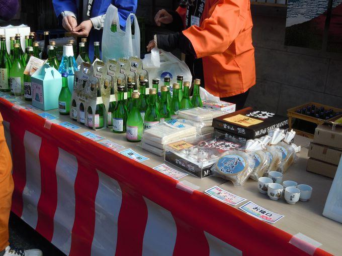 日本酒だけじゃない!まんじゅうなどのスイーツもある必見のオリジナル商品