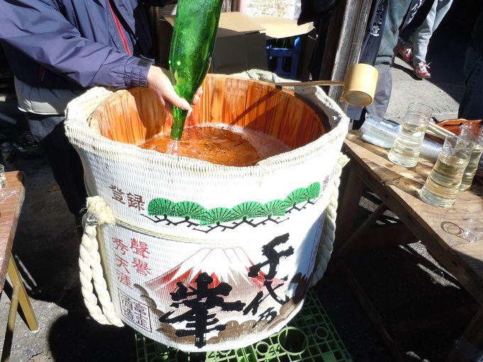 最高の日本酒に出会える「上野の里まつり酒蔵巡り」