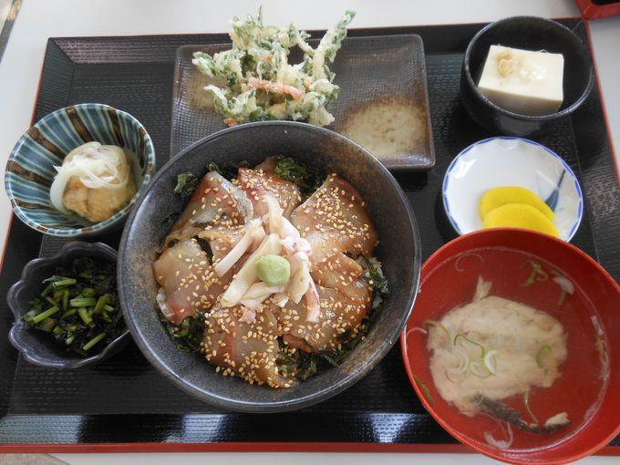 「よっちゃーれセンター」で食す美味しい魚介