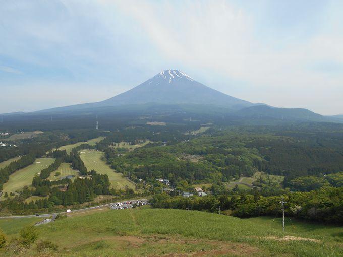 壮大な富士山!開放感溢れる景色
