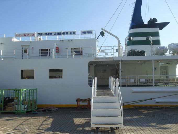 水曜日以外は毎日運航!気軽に楽しめる嬉しい船旅