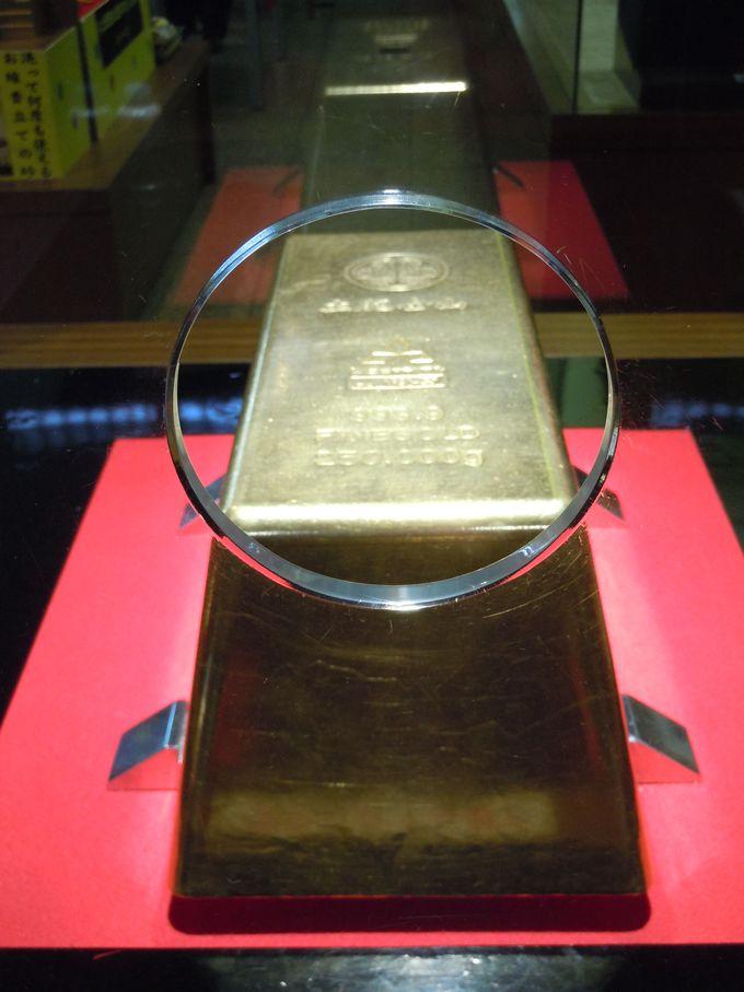 重量250kg!世界一の巨大金塊
