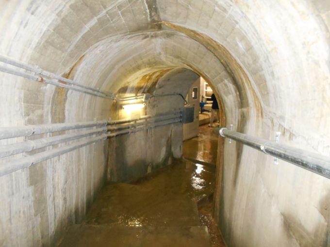驚きと発見の連続!工夫を凝らした見所満載のダム底トンネル