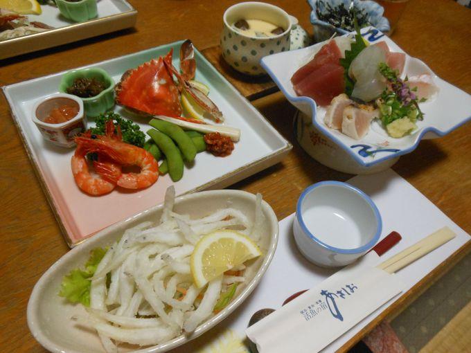 名物の絶品「うなぎ」やお任せの活魚料理